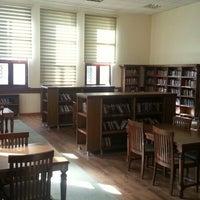 Photo taken at Aydın İl Halk Kütüphanesi by Rıdvan T. on 6/24/2014