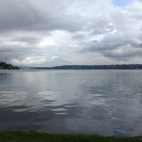 Photo taken at Seward Park by Sean C. on 4/22/2013