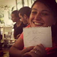 Photo taken at Flaminia Osteria by Luca S. on 9/21/2012