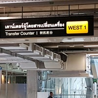 Photo taken at Transfer Check-In West by Libay L. on 5/3/2017
