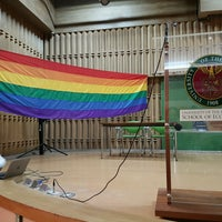 Photo taken at Diosdado Macapagal Auditorium, UPD School of Economics by Libay L. on 9/14/2016