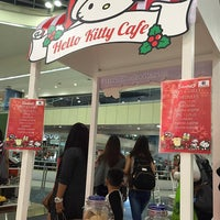 Photo taken at Hello Kitty Cafe by Angel C. on 12/13/2015