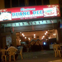 Photo taken at Restoran Duang Dee by Madd on 3/24/2014