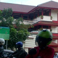 Photo taken at SMP Negeri 49 Jakarta by Nelsa N. on 1/22/2013