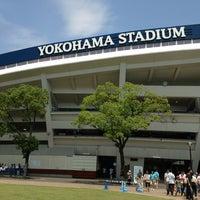 Photo taken at Yokohama Stadium by Satoshi K. on 6/29/2013
