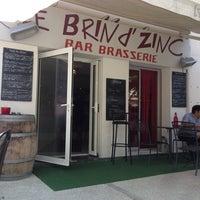 Photo taken at Le Brin D'zinc by Bertrand L. on 6/25/2014