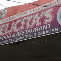 Photo taken at Felicita's Pancit Cabagan by Tin C. on 11/8/2013