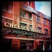 Photo taken at Chelsea Market by Silvia G. on 3/27/2013