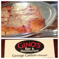 Photo taken at Gino's NY Pizza by Relentless A. on 8/29/2013