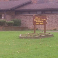 Photo taken at Columbia County Roadside Rest Area (Westbound) by Michael C. on 10/26/2012