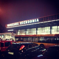 Photo taken at Warsaw East Railway Station by Олег С. on 2/23/2013