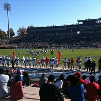 Photo taken at Paulson Stadium by Brian J. on 11/10/2012