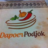 Photo taken at Dapoer podjok by Vicky on 12/23/2013