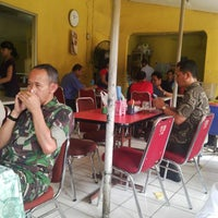 Photo taken at Warung Makan Sop Iga Sapi Bambu Kuning by Thomas D. on 6/25/2014