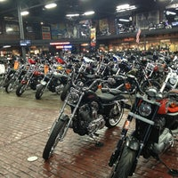 Photo taken at Milwaukee Harley-Davidson by Amy Y. on 2/26/2013