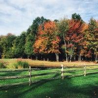 Photo taken at Oak Ridge Tree Farm by Mae B. on 10/11/2015
