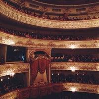 Снимок сделан в Михайловский театр пользователем Alexey P. 11/15/2013