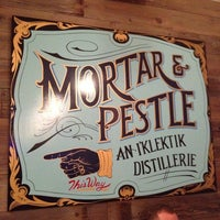 Photo taken at Mortar & Pestle by Lucia G. on 1/12/2014