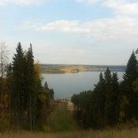 "Photo taken at Горнолыжный курорт ""Жебреи"" by Сергей Г. on 9/21/2012"