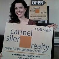 Photo taken at Carmel Siler Realty by Carmel S. on 5/3/2013