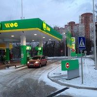 Photo taken at АЗС «WOG» by Сергей Н. on 3/16/2013