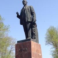 Photo taken at Памятник Ленину by Сергей Н. on 5/1/2013