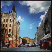 Снимок сделан в Андреевский спуск пользователем Сергей Н. 6/9/2013