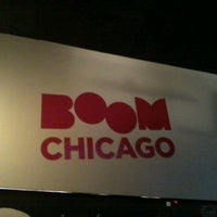 Photo taken at Boom Chicago by Andrea G. on 3/19/2013