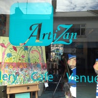 Photo taken at Artizan Gallery by Alison H. on 6/5/2014