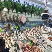Photo taken at Marmara Balık Market by Serdar T. on 12/17/2016