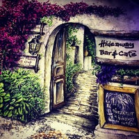 5/25/2013 tarihinde Aycan A.ziyaretçi tarafından Hideaway Bar & Cafe'de çekilen fotoğraf