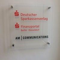Photo taken at Gemeinschaftsbüro DSV / AM / SFP by Alexander H. on 1/22/2014