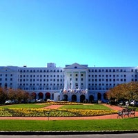 Photo taken at The Greenbrier Golf Club by Lauren on 10/16/2012