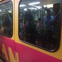 Photo taken at RapidKL Medan Tuanku (MR9) Monorail Station by Tawfiq A. on 8/21/2017