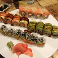 Photo taken at Fujiyama Sushi and Hibachi Grill by Krystal C. on 3/6/2013