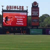 Photo taken at Ed Smith Stadium by Chris on 3/30/2013