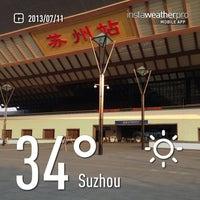 Foto tirada no(a) Suzhou Railway Station (YUQ) por makoto em 7/11/2013