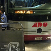 Photo taken at ADO - Central de Autobuses Tampico by Raul M. on 10/1/2012
