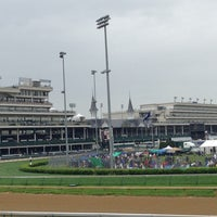 Photo taken at The Kentucky Derby 139 by Frank L. on 5/4/2013