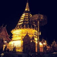 Photo taken at Wat Phrathat Doi Suthep by Aommy N. on 3/26/2013