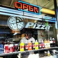 Photo taken at 21st Century Pizza by Mike D. on 9/22/2012