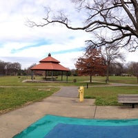 Photo taken at Marquette Park by Jonathan C. on 2/7/2013