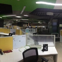 Photo taken at Zoho 8th Floor East wing by Vinay on 3/20/2015