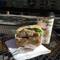 Photo taken at Moe's Broadway Bagel by Vinay on 9/16/2015