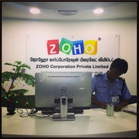 Photo taken at Zoho 8th Floor East wing by Vinay on 12/30/2014