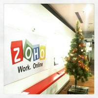 Photo taken at Zoho 8th Floor East wing by Vinay on 12/24/2014
