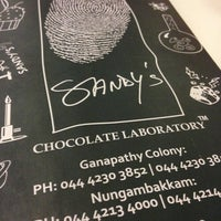 Photo taken at Sandy's Chocolate Laboratory by Vinay on 3/2/2013