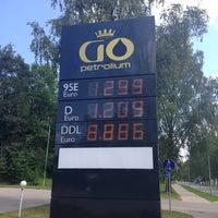 Photo taken at GO Petrolium by Justīne B. on 7/16/2014