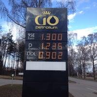 Photo taken at GO Petrolium by Justīne B. on 4/14/2014