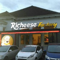 Photo taken at Richeese Factory by wahyo t. on 6/24/2017